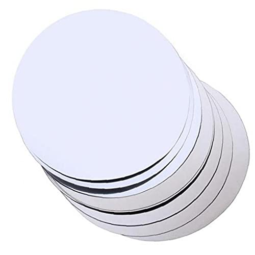 Ruluti 20 unids de Plata de Aluminio de Aluminio de Aluminio Disco Plegable Drip Flexible Drip Stop DETENGA Pista COMPLETOS Drop DESCK Detener Detener DESCKS