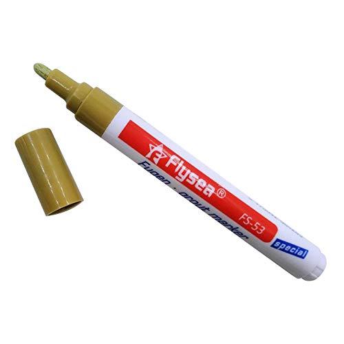 MERIGLARE Rotulador de Reparación de Azulejos Rotulador de Pintura de Marcador de Lechada de Restauración de Baño Premium - Caqui, tal como se describe