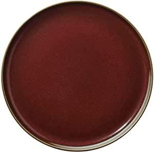 ASA 25502250 Collection Assiette à dessert Rouge rusty KOLIBRI D. 20 cm, hauteur 1,8 cm 25502250
