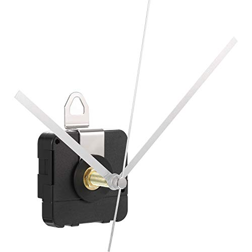 28 mm Langer Schaft Quarzuhrwerk Uhrenteile Reparatur Satz (Silber)