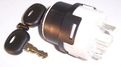 Zündschloss, Zündschalter, Startschalter KM10 11 0037 inklusive 2 Schlüssel Typ A 14603 KM 10 11 0008, FENDT Nr.: X830.240.108.000, X830.240.109.000