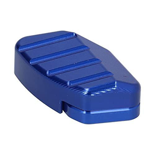 Kickstandvergrößerungs-Zusatzsitz, Seitenständer-Zusatzsitz CNC-Aluminiumlegierung Passend für Forza 125/250/300 2017-2019(Blau)