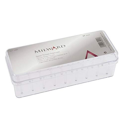 MILWARDS 27 - Organizador de Hilos, 19,5 x 7 x 6 cm