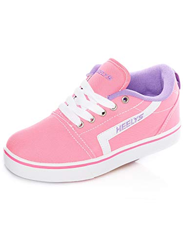Heelys Unisex-Kinder Fitnessschuhe, Mehrfarbig (Pink/White/Lilac 000), 32 EU