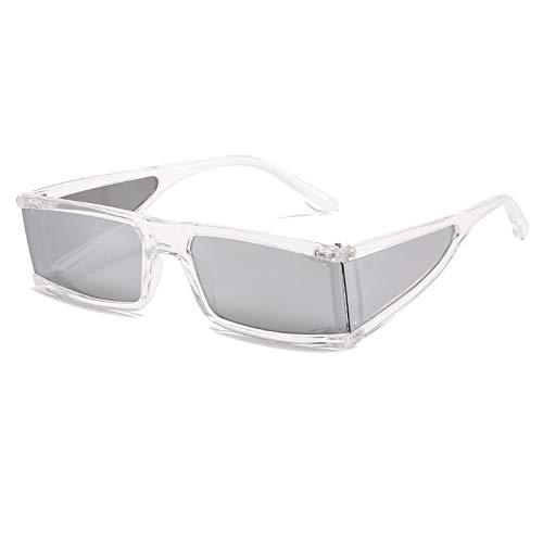 N\P Gafas de sol pieza de pierna cuadrada personalidad Gafas de sol