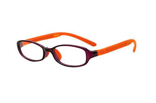 FLOAT READING フロート リーディング (老眼鏡) テンプル(腕)のカラーを選べる グッドデザイン賞受賞のオシャレな老眼鏡 鯖江企画 驚きの掛け心地 首にも掛けれる ブルーライトカット 超軽量 モデル:アメジスト (アメジスト   オレンジ,