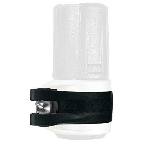 LEKI Unisex-Adult Sports Skistock, schwarz, 18/16mm