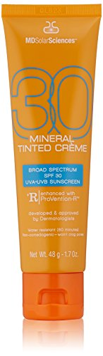 MDSolarSciences Mineral Tinted Crème Broad Spectrum SPF 30, 1.7 oz
