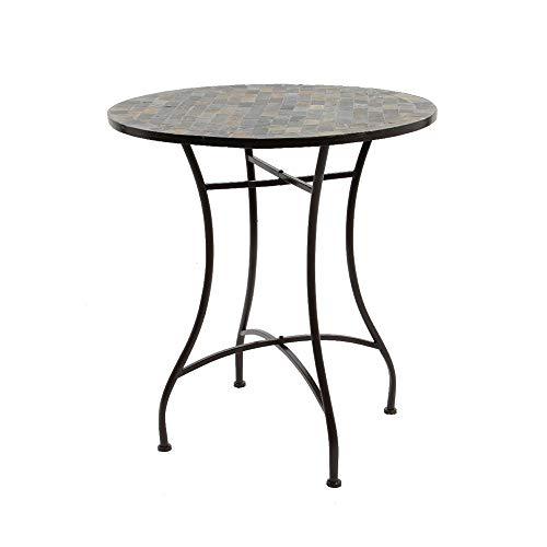 Kaemingk Mosaic Iron Garden Bistro Set - 846318/9