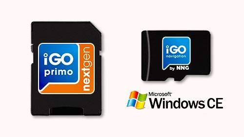GPS MicroSD Card with Professional Premium Package Navigation Software iGO Primo NextGen Map Q2 2019 Full Europe PKW+LKW/Truck/Camper