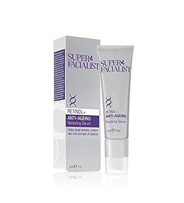 Super Facialist BA-SF25661 Retinol Serum High Strength Anti Wrinkle Cream - 30ml
