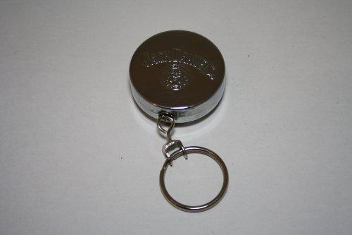Jack Daniels - Clip para cinturón con Llavero Extensible