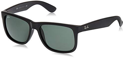 Ray-Ban Justin RB4165 - Gafas de sol Unisex, Negro (Green Classic 601/