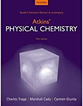 [Student Solutions Manual to accompany Atkins' Physical Chemistry 10th edition] [Author: Trapp, Charles] [June, 2014]