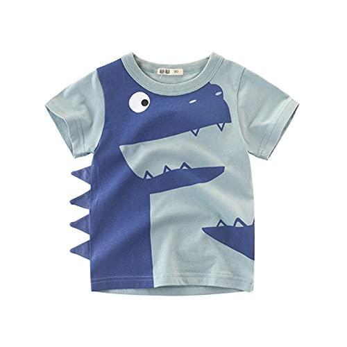Boys Camiseta De Manga Corta,Algodon Camisetas para Niños 1 A 10 Años (B,140cm-9-10 Years)