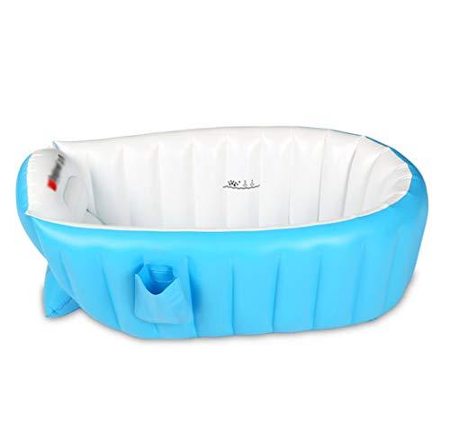 HYCZW Aufblasbare Baby, Badewanne Kinder Schwimmbad Jungen Air Bäder Summer Schwimmbecken Anti-Rutsch Pool faltbar für unterwegs dick Baby Schwimmbecken Badewannensitz Stuhl (für 0-3 Jahre)