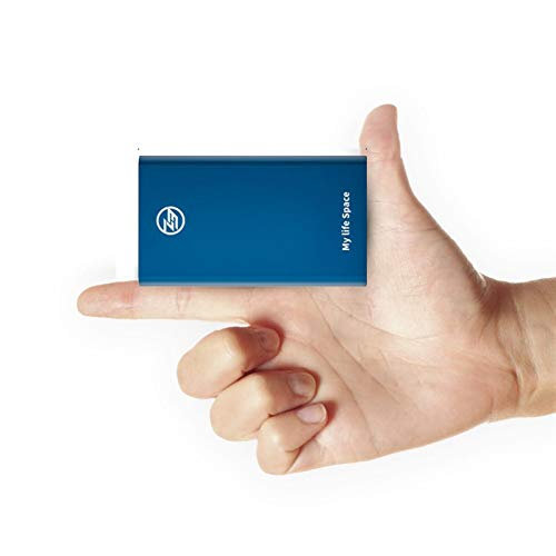 SSD da 1 TB Esterno Solid-State Drive, in Lega di Alluminio Portatile, Goccia a Prova e alla Polvere, Adatto a PC Desktop, Laptop, Tablet, Smart televisori e Altri dispositivi