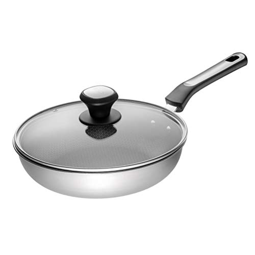 Sauce Pan La sartén de Acero Inoxidable Utensilios de Cocina Antiadherente Total,...