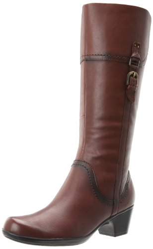 Hot Sale Clarks Women's Ingalls Vicky Boot,Brown Leather,8 M US