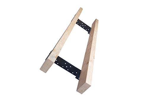 Chainsaw Mill Guide Rail Lumber Metal Brackets System - Sawmill Saw Guide Logging Tools - Made in USA