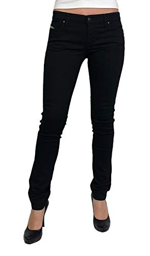 Diesel Damen Stretch Jeans Skinzee-Low R8F14 Skinny schwarz (27/32)
