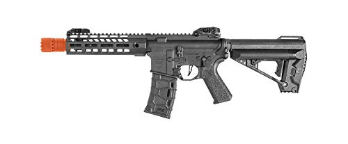 Avalon Saber M-LOK Gen2 AEG 6mm BB Rifle Airsoft Gun, Black, Saber CQB, 2273312