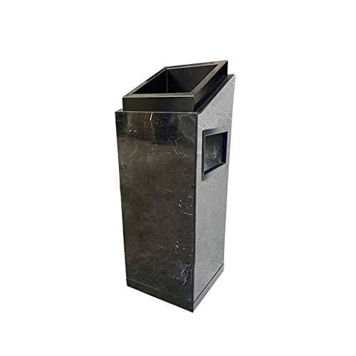 Papelera de basura de la basura de la basura de la basura de la basura de la basura de la basura de la basura de la basura de acero inoxidable con el vestíbulo del hotel del vestíbulo del hotel Bin de