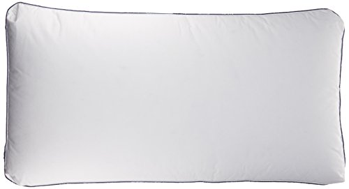 """Pacific Coast Feather Company 25986 SuperLoft Luxury White Goose Down Pillow with Cotton Cover, 2"""" Gusset Cover, King"""