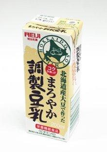 明治『まろやか調製豆乳』