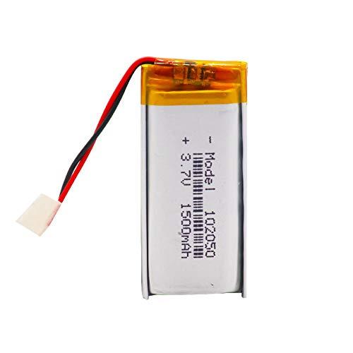 RFGTYH 3.7V 1500mAh 102050 polímero de Litio Li-Po li Ion batería Recargable...