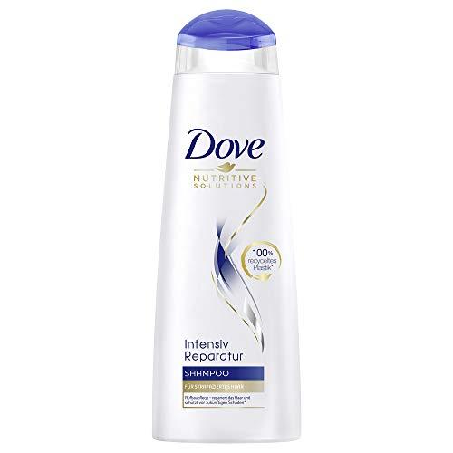Dove Nutritive Solutions Intensiv Reparatur für strapaziertes Haar Shampoo mit Keratin-Reparatur-System, 6er Pack (6 x 250 ml)