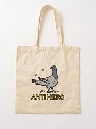 Hero Pigeon Antihero Anti Skateboard Skateboards Canvas Tote Umhängetasche Stylish Shopping Casual Bag Faltbare Reisetasche