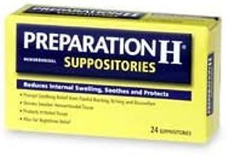 Preparation H Suppositories 24'S sku105767