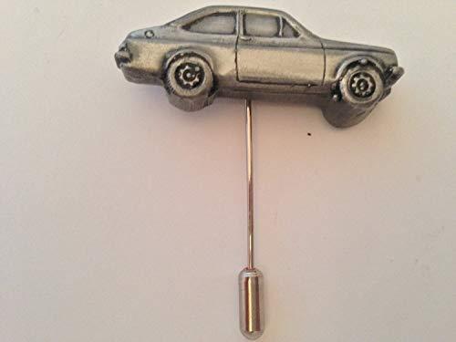 Ford Escort Mk22tür Limousine Motiv auf einem Krawattennadel Stick hat Schal Halsband Fell