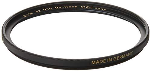 B+W UV-Haze- und Schutz-Filter (62mm, MRC Nano, XS-Pro, 16x vergütet, slim, Premium)