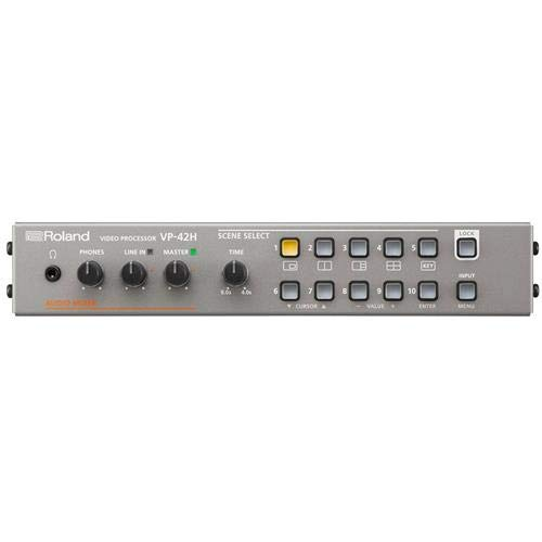 Roland Multi-Format-HDMI-Video-Prozessor, 4 x 2 (Switcher/Matrix/Split) (VP-42H)
