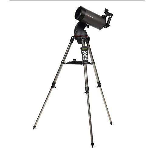 Nologo YO-TOKU Automatische Sternensuche Astronomisches Teleskop 127SLT, maximale Vergrößerung 300 Mal, Brennweite 1500 mm, mit Fernbedienung, Fernglas klar