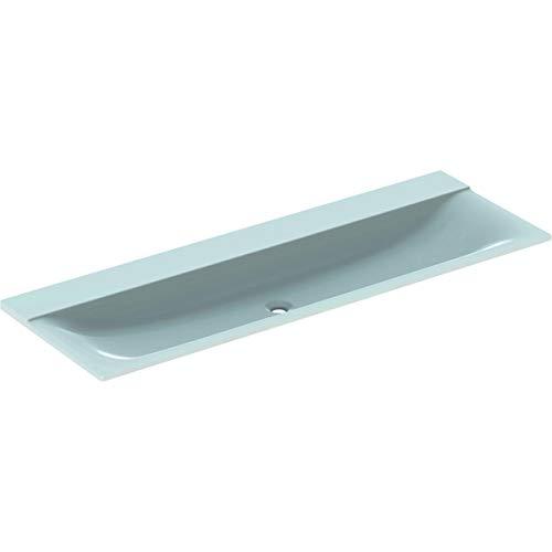 Geberit Xeno 2 Waschtisch ohne Hahnloch, ohne Überlauf, 140x48cm, Weiss, 500276001-500.276.00.1