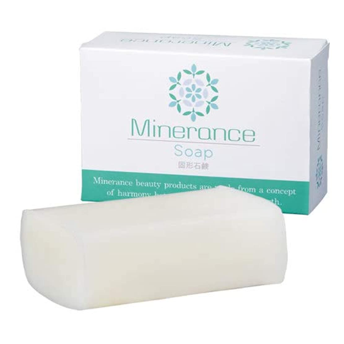 お願いしますアラブ鎮静剤ミネランス ソープ 固形 石鹸 90g