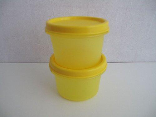 TUPPERWARE Modular Redondo (2) 200 ml amarillo