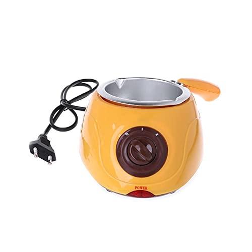 FSLLOVE FANGSHUILIN Elektrische heizung Schokolade süßigkeit Schmelzen Topf Fondue füllfeder Maschine küche backen Werkzeug fit für Hause (Specification : EU)