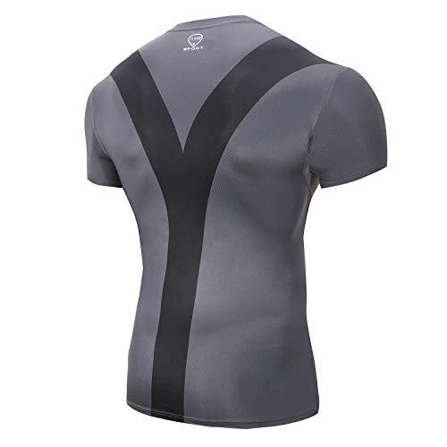 3. Camisas fitness de hombres AmzSport
