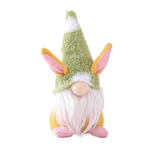 Påskharen Gnome Påskpynt, Mini Faceless Bunny Gnomes Ornament Långt Skägg Handgjorda Påsk Gnomes För Barn Home Party Decor