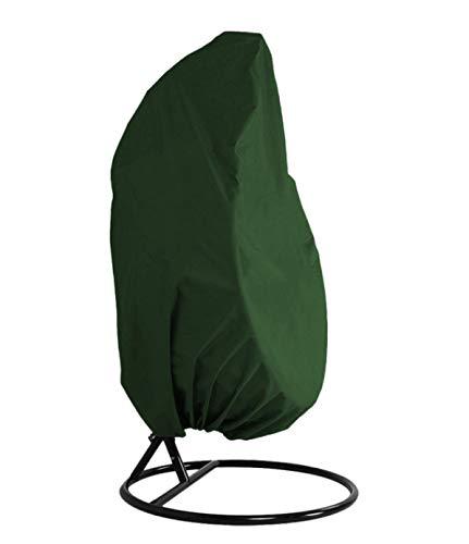 WPPYQ Columpio al Aire Libre Silla Colgante Cubierta Antipolvo Jardín Impermeable Protección UV Cubierta Universal Cubierta de Muebles de poliéster Estera Proteger contra Cualquier Clima