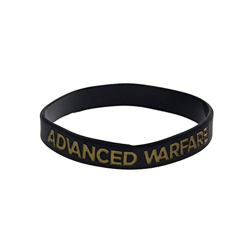 Silikon-Armband Call of Duty Advanced Warfare, weiches Silikon, 10 Stück