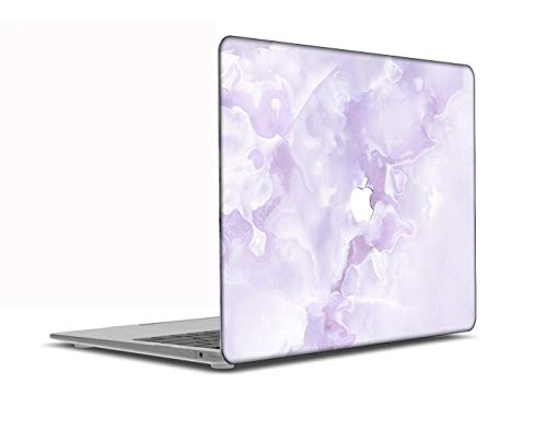 Congsansuo Cut Out Design Plastic Pattern Ultra Slim Light Hard Shell Case Cover Compatible MacBook Pro 13 inch Retina Display No CD-ROM Model:A1425/A1502,Marble A 246