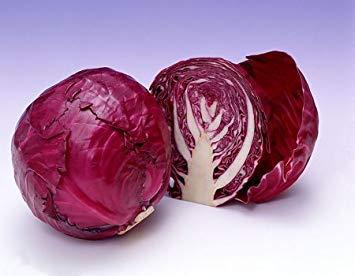 Vistaric 200 Semillas/Bolsa Raras Semillas de col rusas gigantes, Semillas de hortalizas 95% + Germinación, Hortalizas de alta calidad para huertos familiares