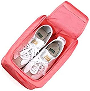Travel Portable Waterproof Shoes Bag Organizer Storage Pouch Pocket Packing Cubes Handle Nylon Zipper Bag,Travel accessori...