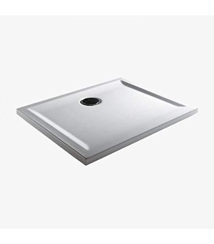 Teuco - Douchebak rechthoekig wit Perspectief - 140x90, Wit, Op voorraad