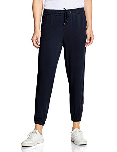 Cecil Damen 372313 Hose, deep Blue, W(Herstellergröße:L)